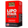 Ultra Tech Lipo Stack Black x 60 Capsulas